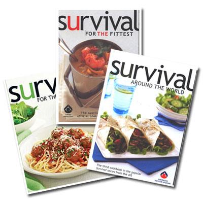 Survival books collection list